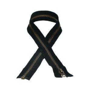 Metal zipper No. 8