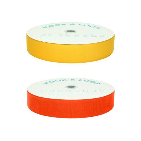 Coloured hook tape